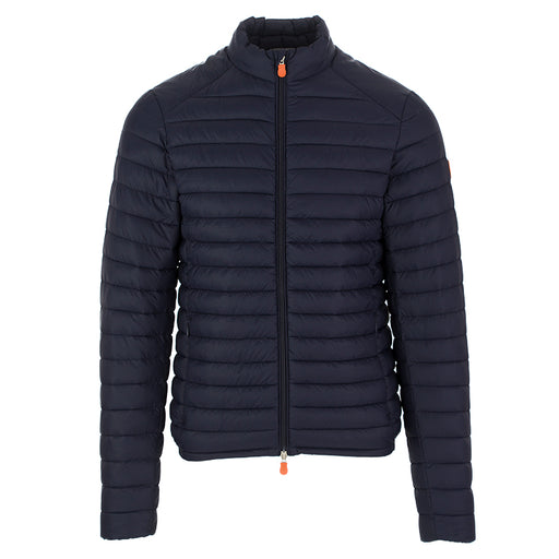 Save The Duck men's jacket blue navy nylon