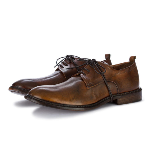 ernesto dolani mens lace up shoes brown