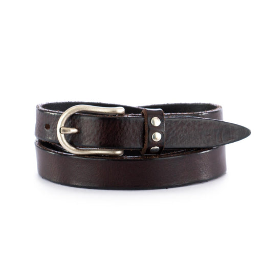 dandy street womens leather belt brown