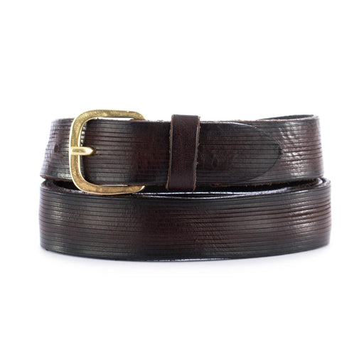 dandy street unisex belt brown