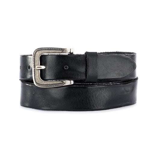 dandy street unisex leather belt black