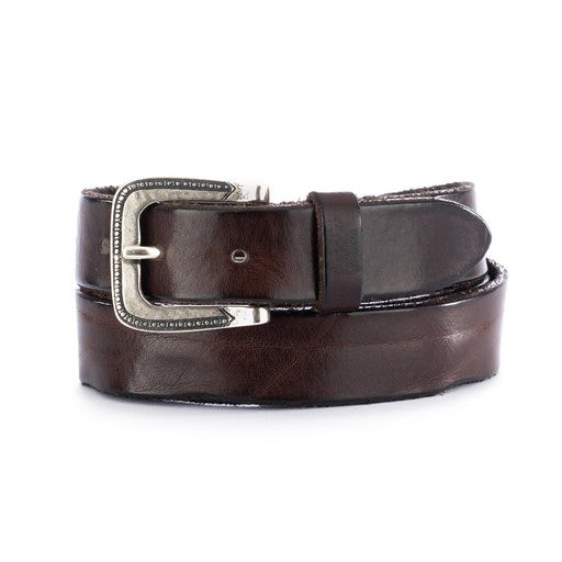 dandy street unisex leather belt brown