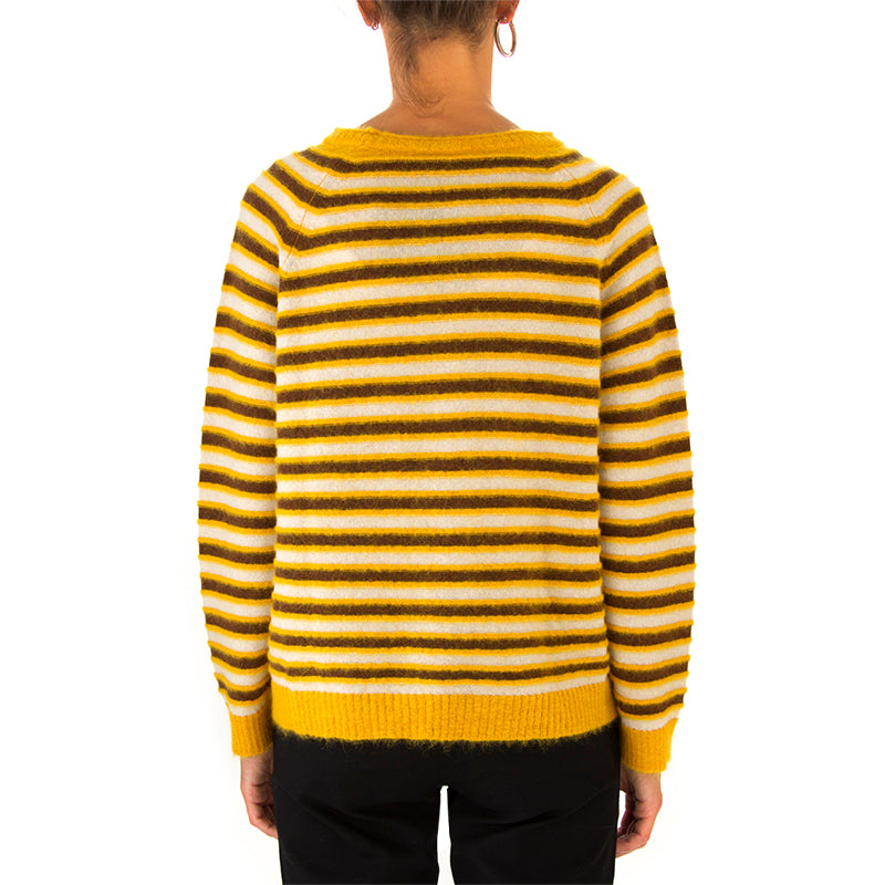 PHISIQUE DU ROLE | SWEATER YELLOW/BEIGE/BROWN