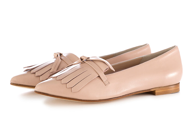 Il borgo firenze womens loafers leather pink