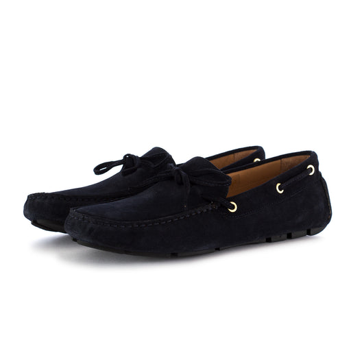 manovia 52 mens loafers suede blue