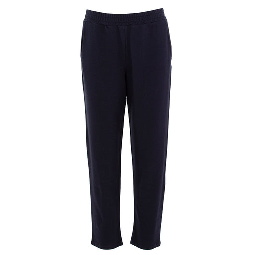 "BIONEUMA | ""CAMPANULA"" TROUSERS BLUE NAVY COTTON"