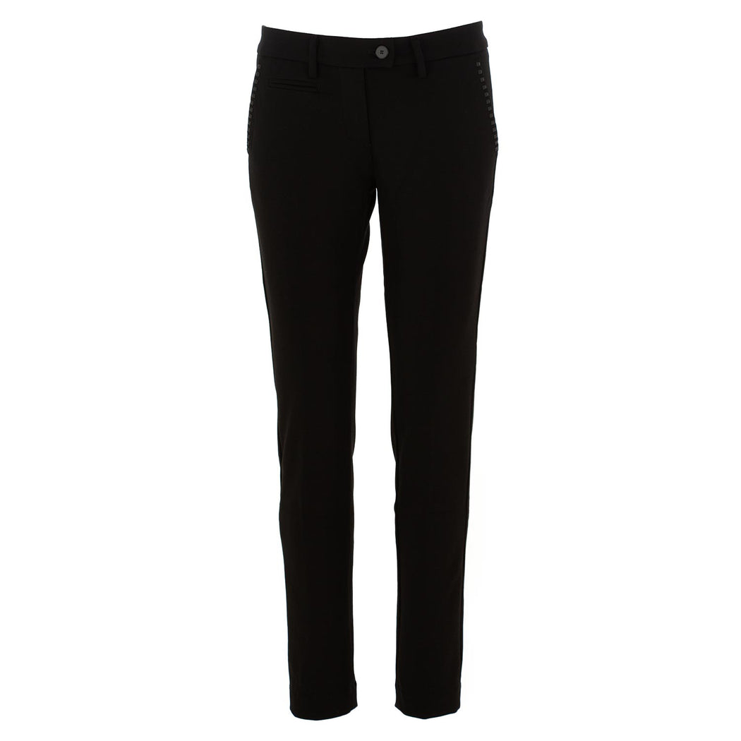masons womens chino pants new york slim black