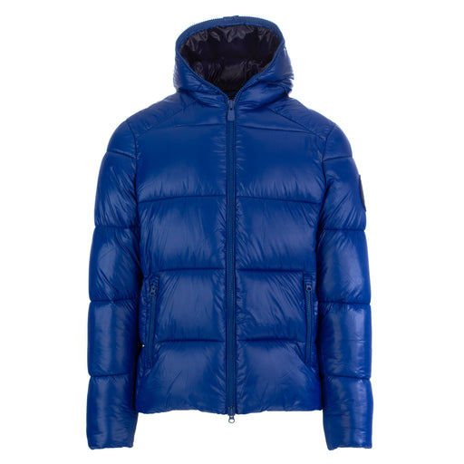 save the duck mens puffer jacket blue