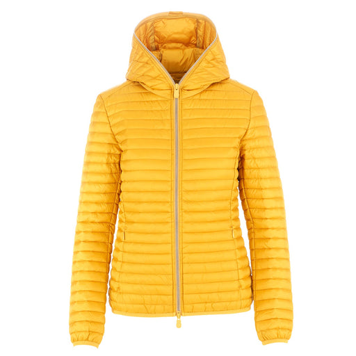 womens puffer jacket Iris12 ocher yellow