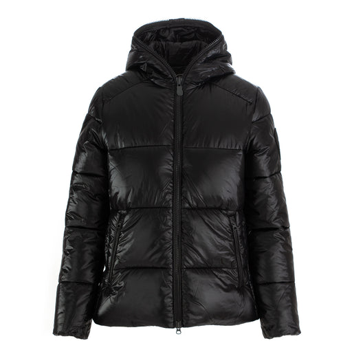 save the duck womens puffer jacket black