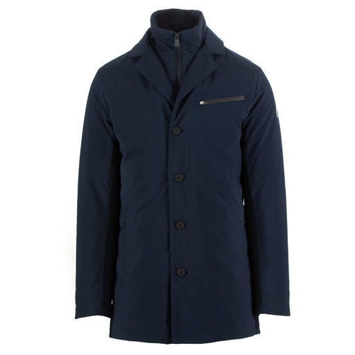 save the duck mens padded jacket blue navy
