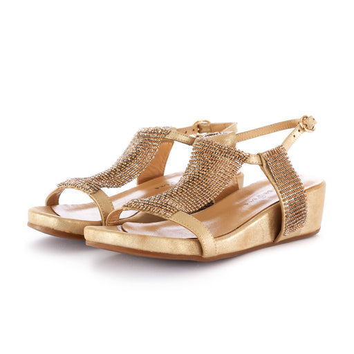 alma en pena womens sandals gold