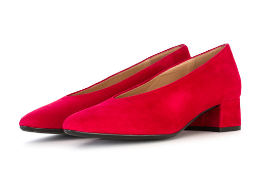 Il Borgo Firenze pumps red suede leather