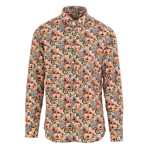 bastoncino mens shirt cotton multicolor