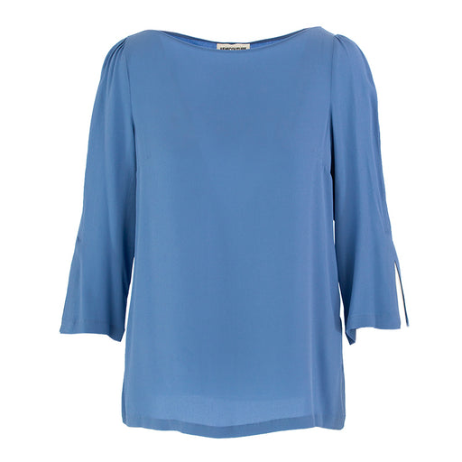 Semicouture women's shirt sky blue