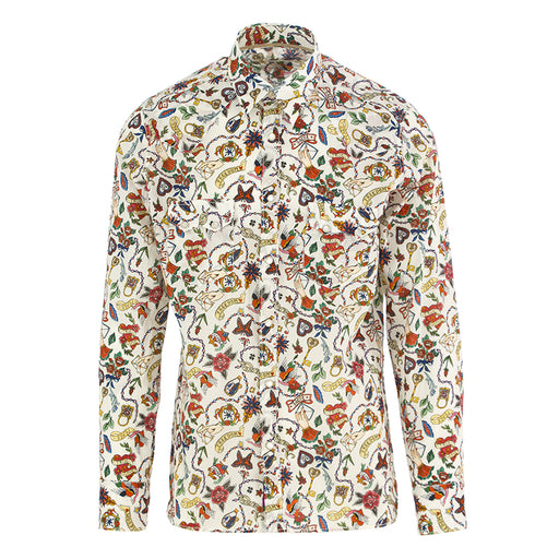 TINTORIA MATTEI 954 mens shirt cotton multicolor