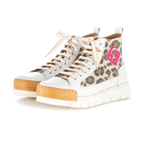 bng real shoes women's sneakers leopard