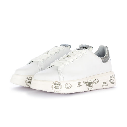 "premiata womens sneakers ""belle"" white"