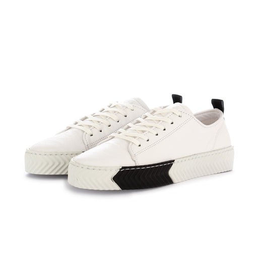 sisley womens sneakers leather white