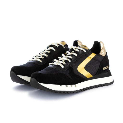 valsport womens sneakers black gold