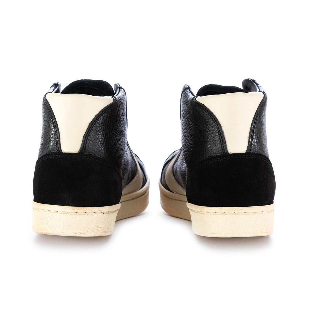 womens sneakers tournament mid black beige
