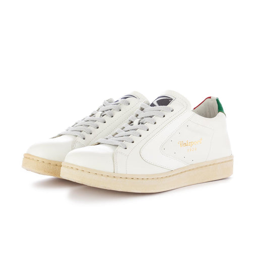 valsport 1920 womens sneakers tournament tricolore white