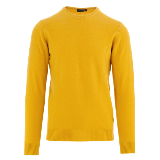 daniele fiesoli mens sweater yellow wool
