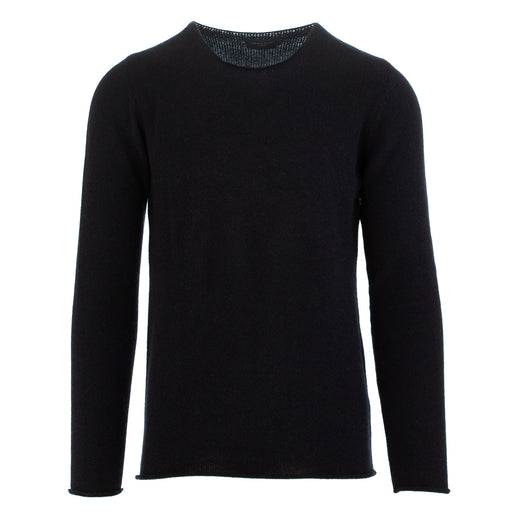 daniele fiesoli mens sweater dark blue alpaca