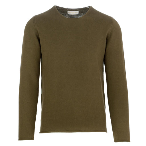 daniele fiesoli men's sweater olive green