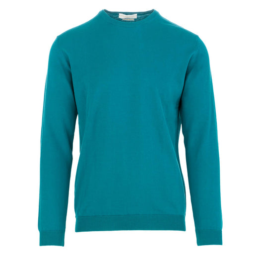 daniele fiesoli men's sweater turquoise