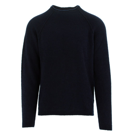daniele fiesoli mens sweater dark blue wool