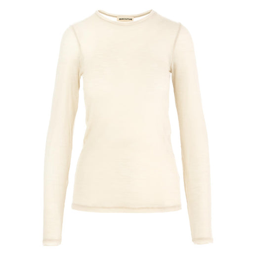 semicouture womens sweater t-shirt beige