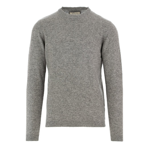 wool & co mens sweater cashmere grey