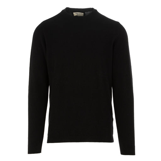 wool & co mens sweater cashmere black