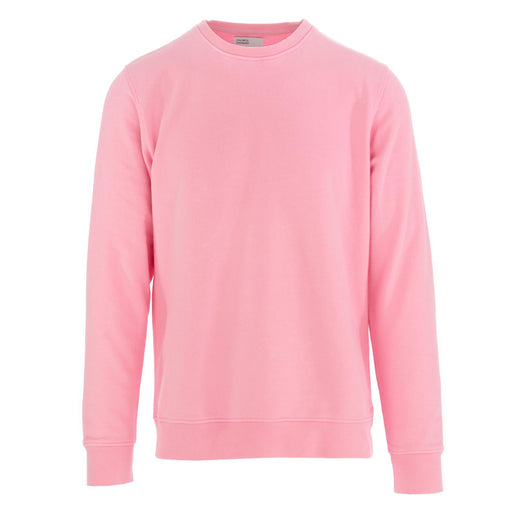 colorful standard unisex sweatshirt cotton pink