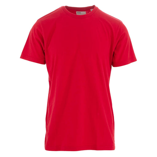 colorful standard unisex t-shirt cotton red
