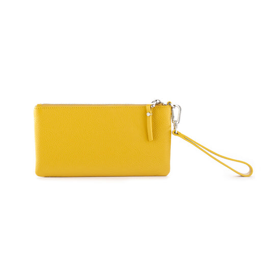 gianni chiarini womens wallet yellow leather