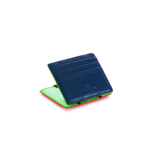vip flap mens wallet vipel pop blue green red