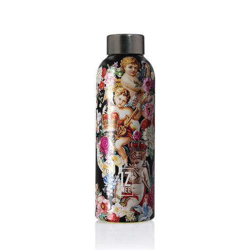izmee thermo water bottle holy bloom multicolor
