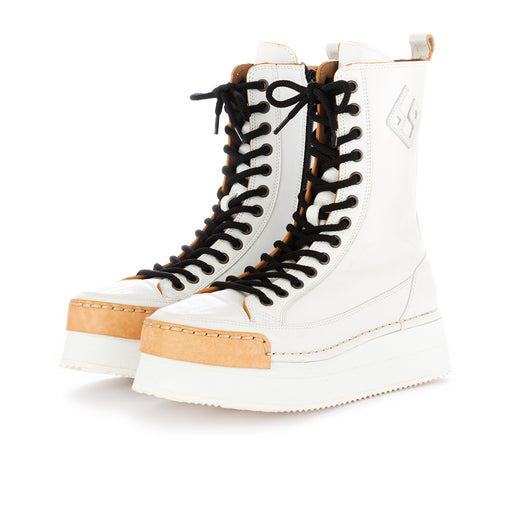 bng real shoes la pop womens wedge boots white