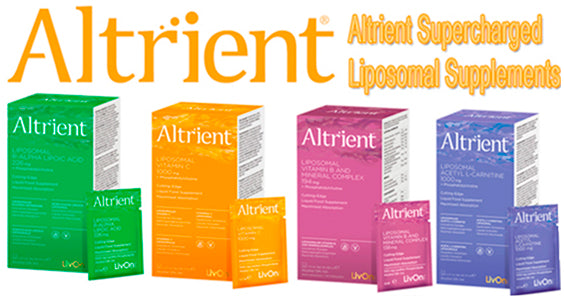 Altrient Supercharged liposomal health supplements UK LONDON