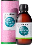 Viridian Organic Woman 40+ Omega Oil 200ml