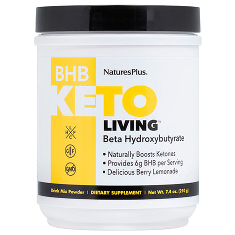 Natures Plus Ketoliving BHB Berry Lemonade