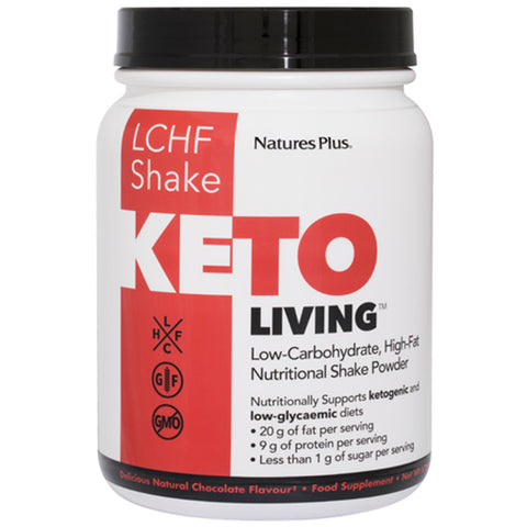 Natures Plus Ketoliving LCHF Shake Chocolate Flavor