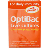 Optibac For daily immunity - Buy Healthy All Natural Vitamins Supplements