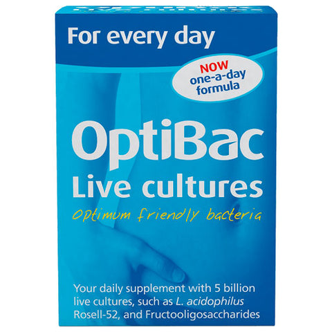 Optibac For every day live cultures supplement