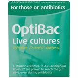 Optibac For those on antibiotics - Buy Healthy All Natural Vitamins Supplements