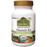 Source of Life Garden Vitamin K2 120 mcg Vcaps - Buy Healthy All Natural Vitamins Supplements