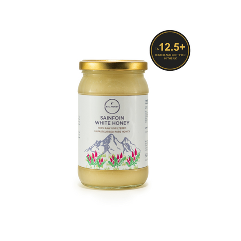 Sainfoin Active 12.5+ White Honey 500G