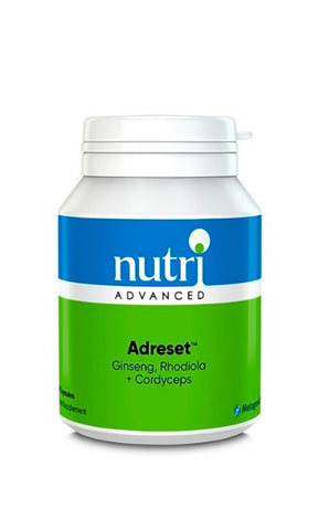 Nutri Advanced Adreset 60 Capsules (Cordyceps, Asian Ginseng, Rhodiola)